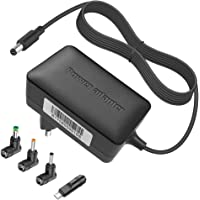 BERLS 5V 2A / 3A Alimentatore Caricabatterie universale con 4 connettori per tablet, altoparlante Bluetooth, Raspberry…