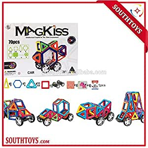 70 PCS MAGKISS Magnetism Block Building Toy