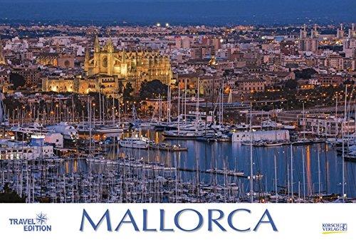 Mallorca 2018: Großer Foto-Wandkalender mit Bildern von der spanischen Insel. Travel Edition mit Jahres-Wandplaner. PhotoArt Panorama Querformat: 58x39 cm.