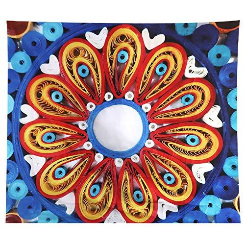 JOTOM Tapiz de Pared para Colgar en la Pared decoración para Dormitorio, Sala de Estar,Hogar (Elefante Mandala, 150_x_200_cm)
