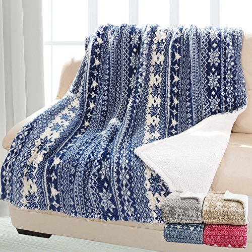 Fantastic design and very very soft will be perfect to snuggle up with my family in the winter.