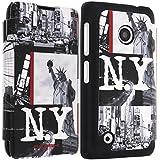 Akashi Etui folio pour Nokia Lumia 530 NYC