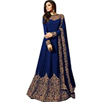 HomeDeal® Women's Codding Long Anarkali Gown With Duptta