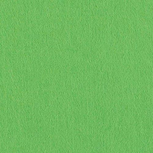 Unbekannt Filz 90cm/3mm stark, 12 hellgrün — Meterware ab 0,5 m — zum Nähen von Accessoires, Taschen und Karnevalsartikeln