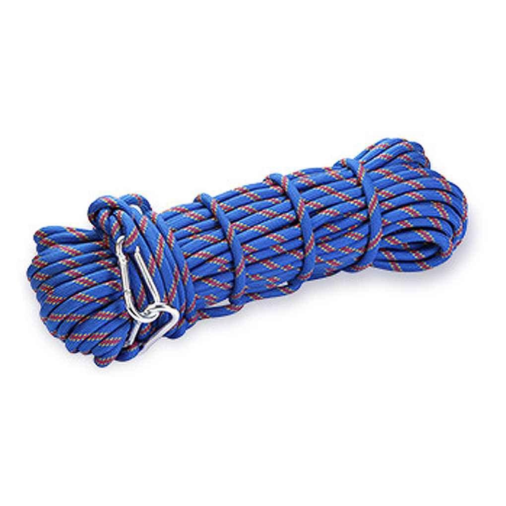 XINDA 10mm Escalada Nudos de la cuerda de alta resistencia cuerda cordón de seguridad para el alpinismo al aire libre Senderismo Cuerpo de Bomberos LUFA