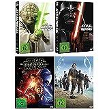 Star Wars Saga I-VI (1-6,1+2+3+4+5+6) + Das Erwachen der Macht + Rogue One / DVD Set