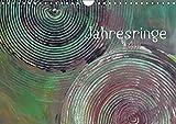 Jahresringe (Wandkalender 2017 DIN A4 quer): Jahresringe - Jedes Jahr voller Leben (Geburtstagskalender, 14 Seiten ) (CALVENDO Kunst)