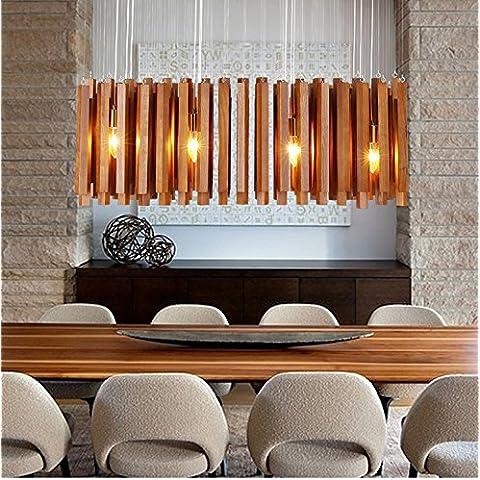 ZQ@QX Lampadario di design moderno decorazione lampada camera da letto