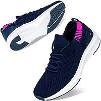 Kyopp Basket Femme Chaussures Sport Utilisé pour la Fitness Running Footing Respirantes Confort Chaussette Chaussures…
