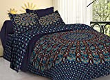 Best Bedspreads - Tiger Exports Cotton Mandala Double Bedsheet with 2 Review