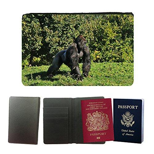 pu-supporto-di-cuoio-del-passaporto-con-slot-per-schede-m00105732-gorilla-affe-affe-ape-mannlich-uni