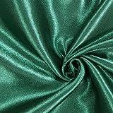 Fabulous Fabrics Brautsatin Deluxe – grün — Meterware