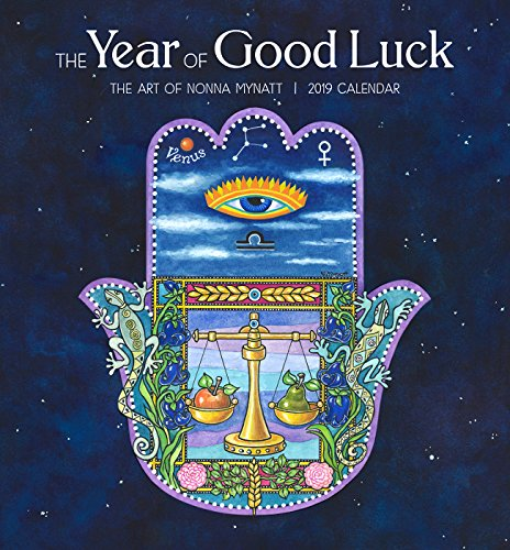 The Year of Good Luck the Art of Nonna Mynatt 2019 Mini Calendar Nonne Mini