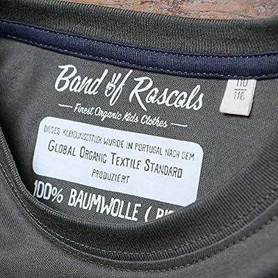 Band of Rascals Plank - Cooles Jungen Skate T-Shirt Kurzarm Aus 100% Bio-Baumwolle