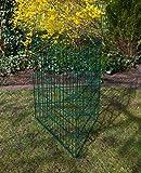 Laub & Rasenschnitt Komposter XXL über 360 Liter Füllvolumen grün