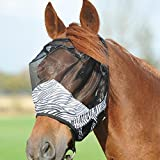 Busse Fliegenmaske FLY GUARD ZEBRA, Warmblut, zebra