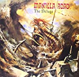 Manilla Road: The Deluge (Orange/Black Splitter Vinly) [Vinyl LP] (Vinyl)