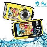 Waterproof Camera FHD 1080P Underwater Camera 24MP Waterproof Digital Camera Selfie Dual Screen