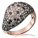 Goldmaid Damen-Ring Reflexion Supernova 18 Karat 750 Rotgold 225 Diamanten 3,29 ct. Gr. 56 (17.8) Re R5332RG56 Brillanten Diamantring Verlobung