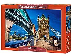 Castorland Tower Bridge of London 2000 pcs Puzzle - Rompecabezas (Puzzle Rompecabezas, Ciudad, Niños, Niño/niña, 9 año(s), Interior)