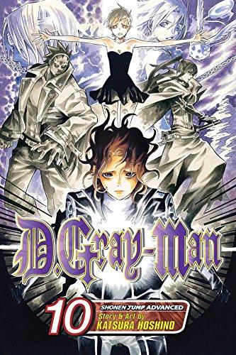 D. Gray-Man, Vol. 10 Cover Image