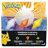 Pokèmon - Pack de 3 Cristales Z-Ring, Normal/Lucha/Electricidad (Bizak 30699210)