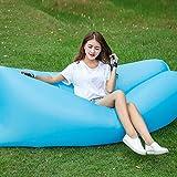 KKG® 0,8kg schnell aufblasbar Air Bed Wandern Camping Lounge Schlafsack Camping Outdoor Sofa