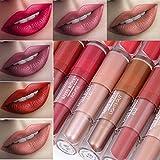 24 Colores Profesional Mate Pintalabios de Maquillaje Larga Duracion...