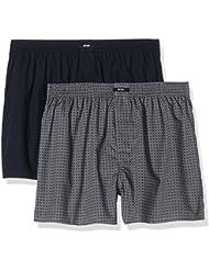 BOSS Hugo Boss 50321913 - Pantalones de pijama para hombre, set de 2