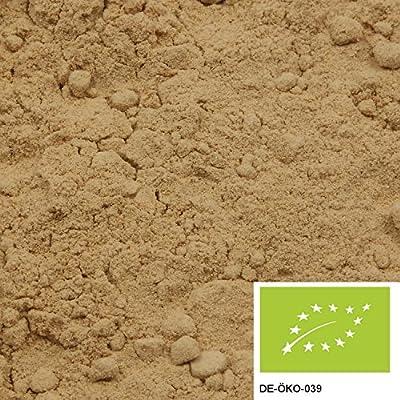 500g de poudre de gingembre bio, le gingembre moulu comme base d'un délicieux thé au gingembre