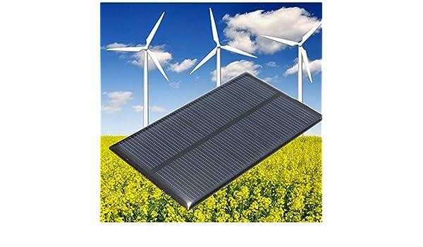 5V 1W Polycrystalline 110 X 65mm 200mA Mini Epoxy Solar Panels