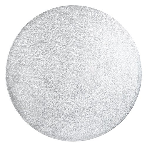FunCakes cake Drum - runde, silberfarbene Kuchenplatte Ø 40,5cm