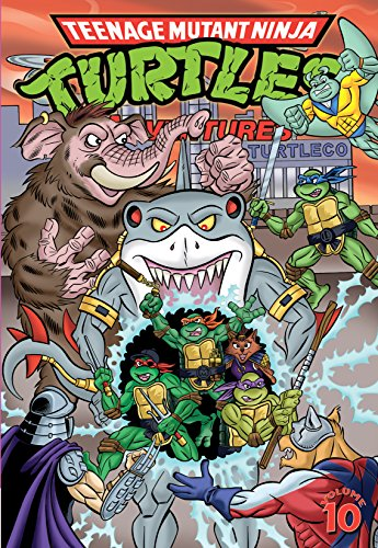 Teenage Mutant Ninja Turtles Adventures Vol. 10 (English ...
