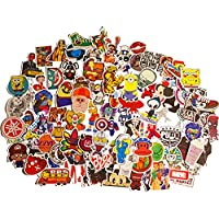 100pcs Cool Graffiti Stickers Baby Buy Vinyl Car Sticker Decal Sticker for Laptop Macbook Motorcycle Bicycle Luggage Graffiti Patches Skateboard Snowboar iPhone PS4 Xbox One Nintendo Switch | The Mezele