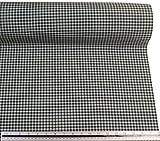Grün Weiß kariert Baumwolle-Mischgewebe Hohe Qualität