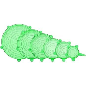 Silikon-Deckel, Silikon elastischer Deckel, BPA-frei, Ein