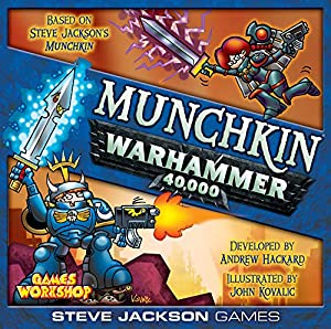 Steve Jackson Games SJG4481 Munchkin Warhammer 40000, álbum de Foto y Protector