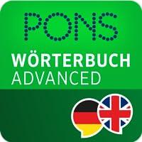 PONS Wörterbuch Englisch - Deutsch ADVANCED