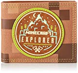 Bioworld Merchandising - Portefeuille Officiel Minecraft Explorer, Carteras Unisex adulto, Marrón (Marron), 2x8x11 cm (W x H L)