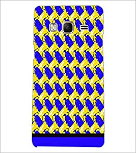 PrintDhaba Pattern D-1654 Back Case Cover for SAMSUNG Z3 (Multi-Coloured)
