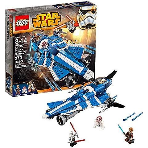LEGO - Juego de construcción Jedi Starfighter de Anakin, con 370 piezas (75087)