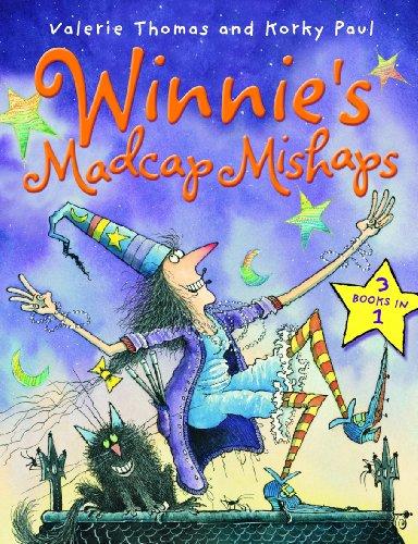 Winnie's madcap mishaps : Winnie the Witch, Winnie flies again, Winnie in winter