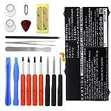 subtel Batterie premium pour Samsung Galaxy Tab S2 9.7 (SM-T810 / SM-T813 / SM-T815 / SM-T819) + Set de micro vissage (5800mAh) EB-BT810ABA, EB-BT810ABE Batterie de rechange, Accu remplacement