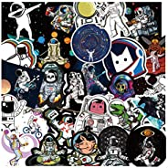 100 pcs/Pack NASA Galaxy Vsco Stickers No Repetition Stickers Vinyl Cool Skateboard Guitar Travel Case Sticker