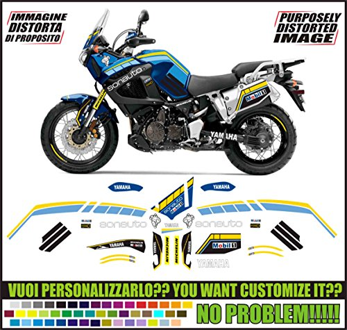 Kit adesivi decal stickers YAMAHA XT 1200 Z SUPER TENERE REPLICA SONAUTO PARIS DAKAR