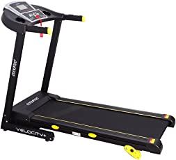 Cockatoo Velocity Series 1.25 HP (2.5 HP Peak) & 1.5 HP (3 HP Peak) DC Motorized Treadmill
