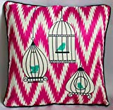 Inspirasia Bird Cage Cushion Cover 16x16