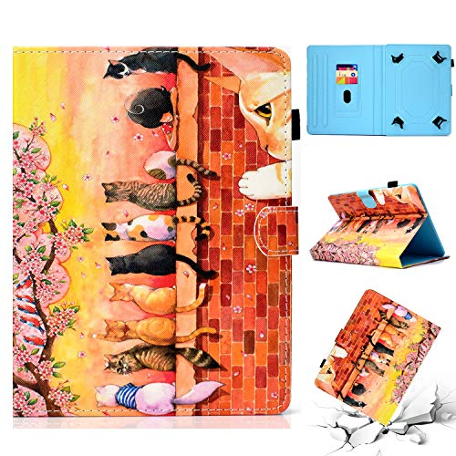 Uliking Universal 7 5 Cover 6 TabletPu Case Folio For Inch Leather nO80wPkX