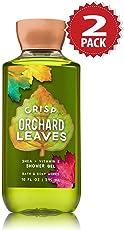 Bath & Body Works Duschgel 2er Pack - Crisp Orchard Leaves (2x295ml)