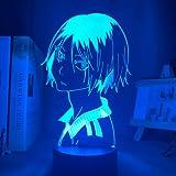 Haikyu !! Led Night Light Anime Kozume Kenma Lampada per arredamento camera da letto Nightlight Bambini Bambini Regalo di com